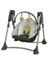 Graco San Marino Swing By Me Portable 2-in-1 Swing