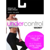 Collants jambe opaque Undercontrol de SECRETMD XXL