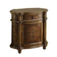 Light Brown Traditional Bombay Cabinet