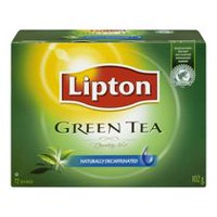 Lipton® Green Tea Naturally Decaffeinated Tea Bags