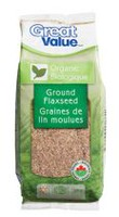 Graines de lin moulues biologiques de Great Value