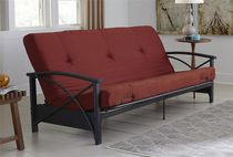 "DHP 6"" Ruby Red Futon Mattress"