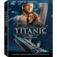 Film Titanic 3D (Limited Edition) (2-Disc Blu-ray 3D + 2-Disc Blu-ray) (Bilingue)