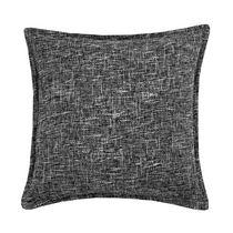 Burlap Grey Decorative Cushion