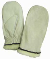 Kodiak Cowhide Leather Work Mitt, 05W09 XL