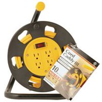 Woods 10M Metal Cord Reel