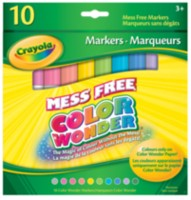 10 Color Wonder Markers Tropical