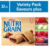 Kellogg's Nutri-Grain Assorted Cereal Bars, 32 Count