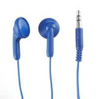 ONN Stereo Earbuds Blue