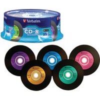 Verbatim 94488 700 Mo CD-R Broche, 25 / Pack