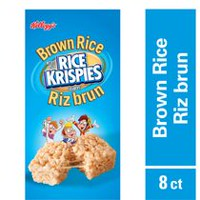 Kellogg's Brown Rice Krispies Squares Bar, 160g