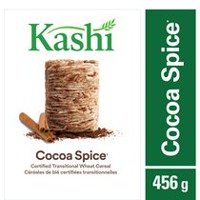 Kashi Cocoa Spice Certified Transitional Wheat Cereal, 456g