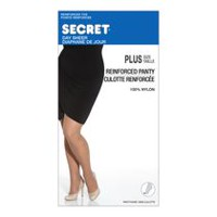 Secret Plus Queen Size Regular Pantyhose Black 1XL