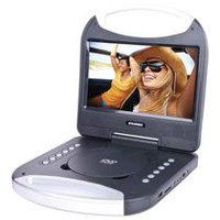 "Sylvania 10"" Portable DVD Player with Integrated Handle"