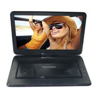 "Sylvania 15.6"" Portable DVD Player with Swivel Screen"