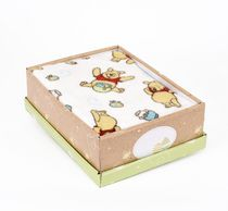 Disney Winnie the Pooh Plush Baby Blanket and Keepsake Box