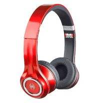 Blackweb On-Ear Premium Series Headphones Red