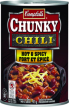 Campbell's® Chunky® Fort et èpicé Chili