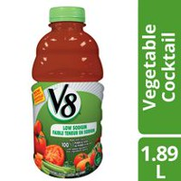 Cocktail de légumes V8 de Campbell 1.89 l Faible teneur en sodium