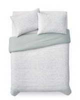 Mainstays Poem Reversible Duvet Cover Set Twin