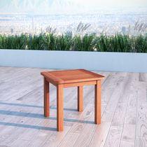 CorLiving Miramar Hardwood Outdoor Side Table