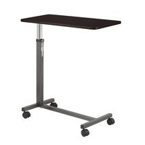 Drive Medical Non Tilt Top Silver Vein Overbed Table
