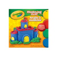 Crayola 4 Colours Modelling Clay