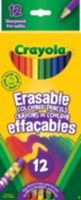 12 Erasable Coloured Pencils