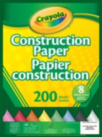 200-Sheet Construction Paper