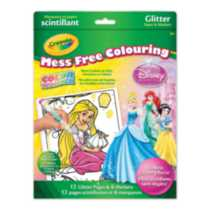 Color Wonder™ Princess Glitter Paper and Markers