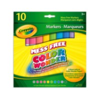 Marqueurs Color Wonder de Crayola
