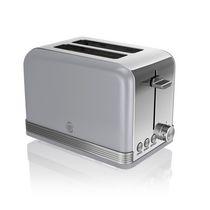 Swan Retro 2 Slice Toaster ST19010GRN