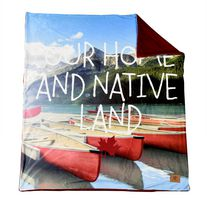 "Canadiana Accent 50"" X 60"" Throw"