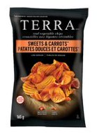 Terra Sweets & Carrots Low Sodium Real Vegetable Chips