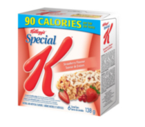 Special K Strawberry Flavour Bars