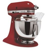 Batteur à tête inclinable KitchenAidMD de 4,5 pintes (4,3 l) Rouge