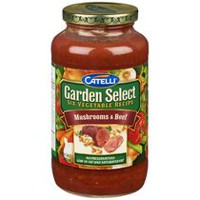 Catelli® Garden Select® Six Vegetable Recipe Mushrooms & Beef