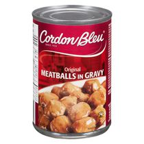 Cordon Bleu Original Meatballs in Gravy 410g