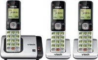 VTech 3 Handset Cordless Phone System with Caller ID/Call Waiting-CS6719-3
