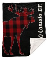 Canadiana 'O Canada Eh' Accent Throw