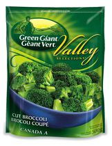 Green Giant Frozen Vegetables - Valley Selections Cut Broccoli
