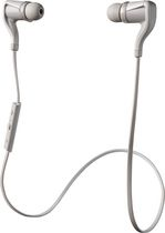 Plantronics Backbeat GO 2 Earbud Bluetooth Headphones with Microphone, White - 89800-03