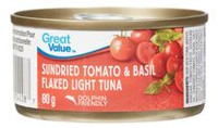 Great Value Flaked Light Tuna, Sundried Tomato & Basil