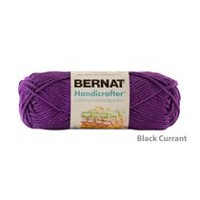 Bernat Handicrafter Cotton Yarn Black Currant
