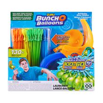Bunch O Balloons Launcher with 140 Rapid-Filling Self-Sealing Water Balloons