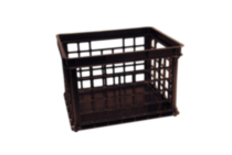 Stacking File Crate - Black