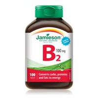 Jamieson Vitamin B2 Tablets, 100mg