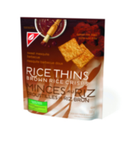 Rice Thins Sweet Mesquite BBQ 100g
