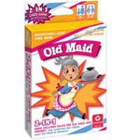 Cartamundi Old Maid 2-in-1 Card Game