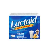 LACTAID® Extra Strength Tablets, 80 Count
